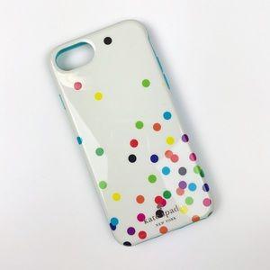 Kate Spade Colorful Polka Dot iPhone 6/7/8 Case